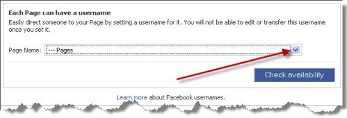 facebook custom url, facebook custom username