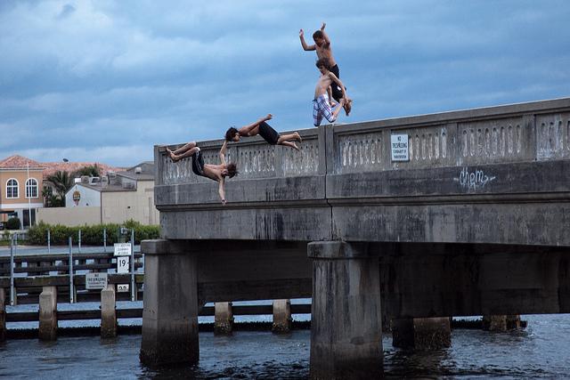 Jumping Off a Bridge