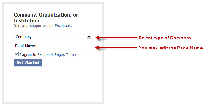 Converting Facebook Personal Profile to Business Page