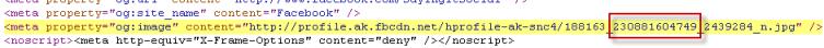 Source Code Page ID
